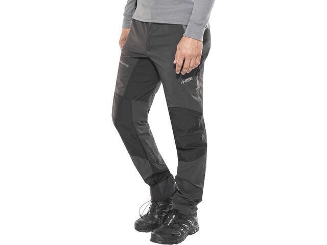 Directalpine Patrol Tech 1.0 Pantaloni Uomo, grigio/nero